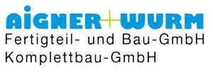 Logo Aigner+ Wurm - Fertigteil- und Bau-GmbH, Komplettbau-GmbH