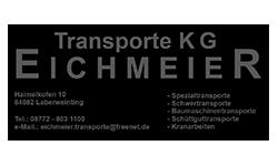 Logo Transporte KG Eichmeier