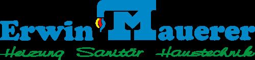 Logo von Erwin Mauerer - Heizung Sanitär Haustechnik