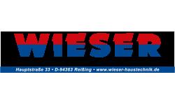 Logo Wieser - Elektro Heizung Sanitär Lüftung Photovoltaik