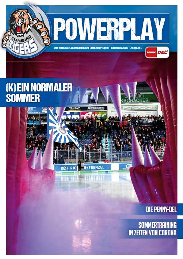 Titelblatt vom Powerplay Saison 2020/2021 Ausgabe 1