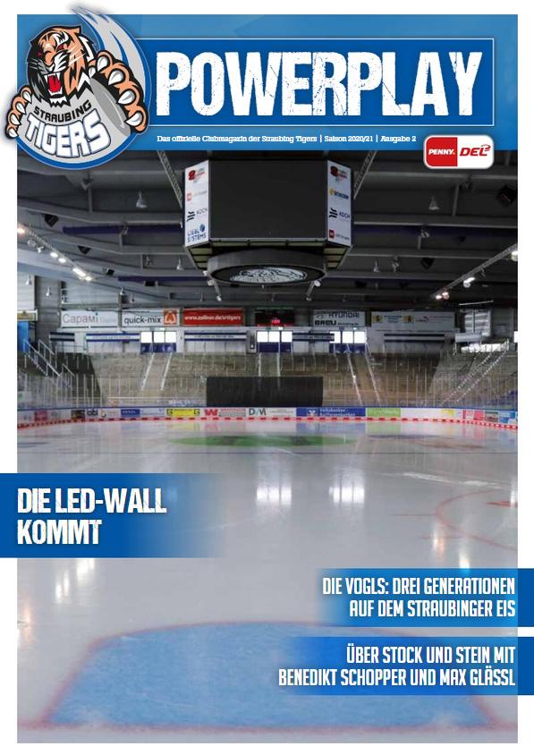 Titelblatt vom Powerplay Saison 2020/2021 Ausgabe 2
