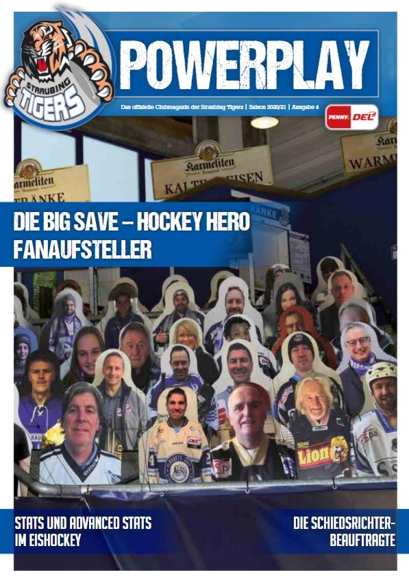Titelblatt vom Powerplay Saison 2020/2021 Ausgabe 4
