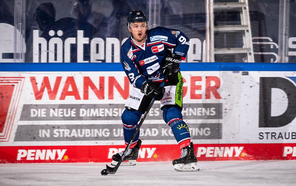 Stephan Daschner auf der Eisfläche