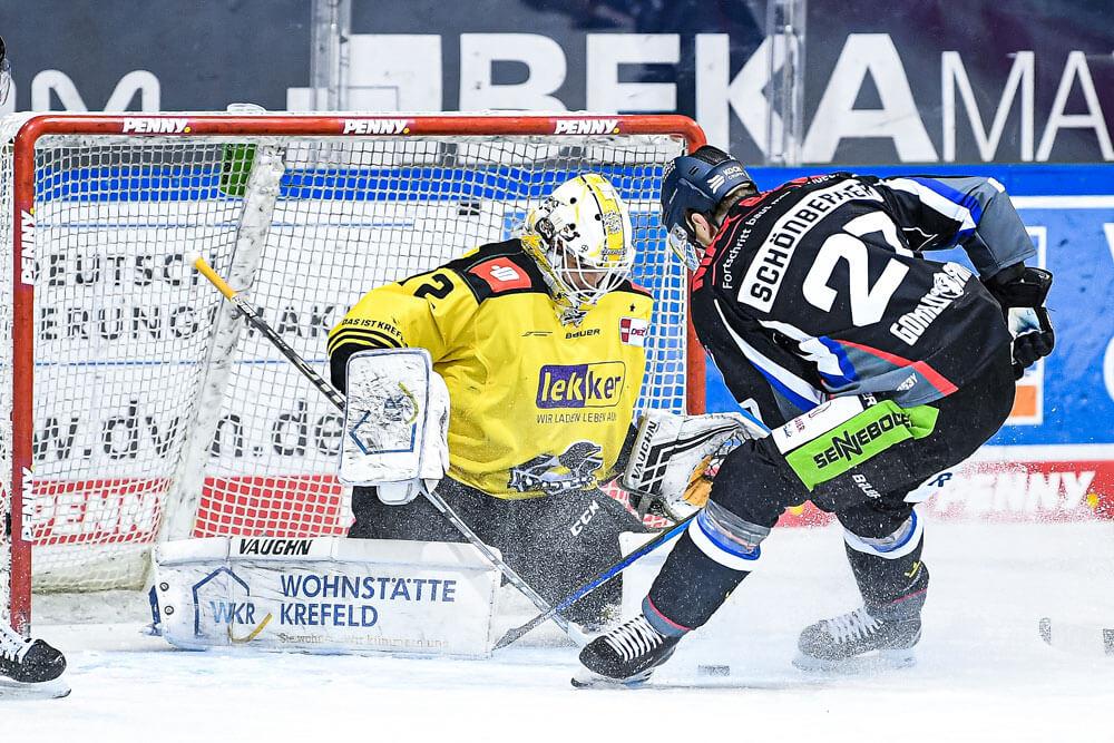 Sandro Schönberger beim Spiel