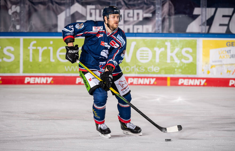 Benedikt Schopper beim Spiel