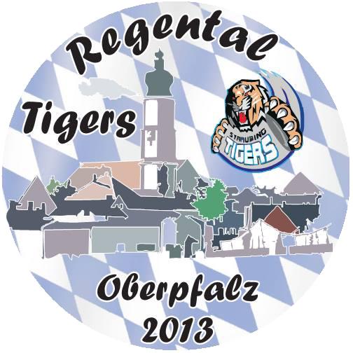Logo der Regental Tigers Oberpfalz 2013