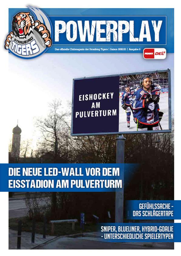 Titelblatt vom Powerplay Saison 2020/21 Ausgabe 6
