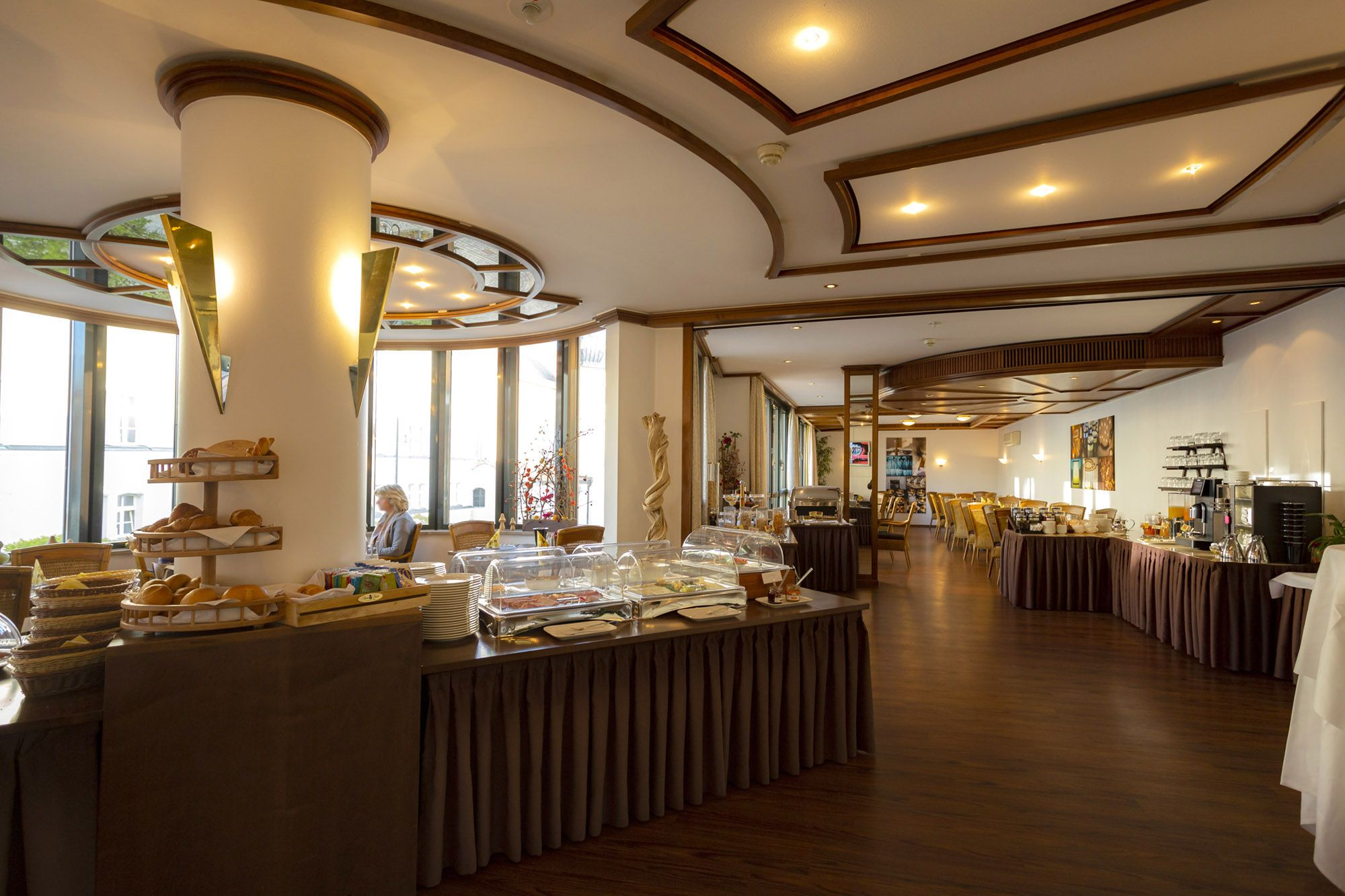 Speisesaal im Hotel Theresientor