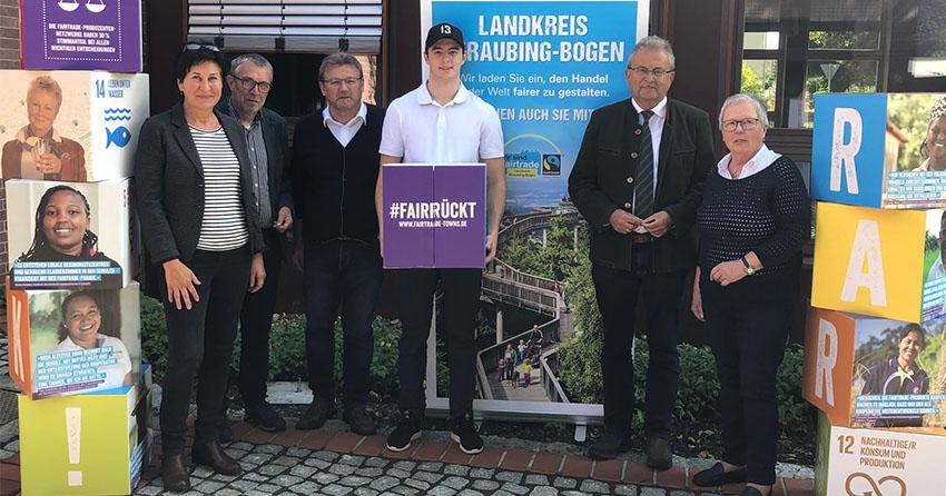 Stefan Loibl ist prominenter Pate im Zusammenhang mit der Fairen Woche im Landkreis Straubing-Bogen