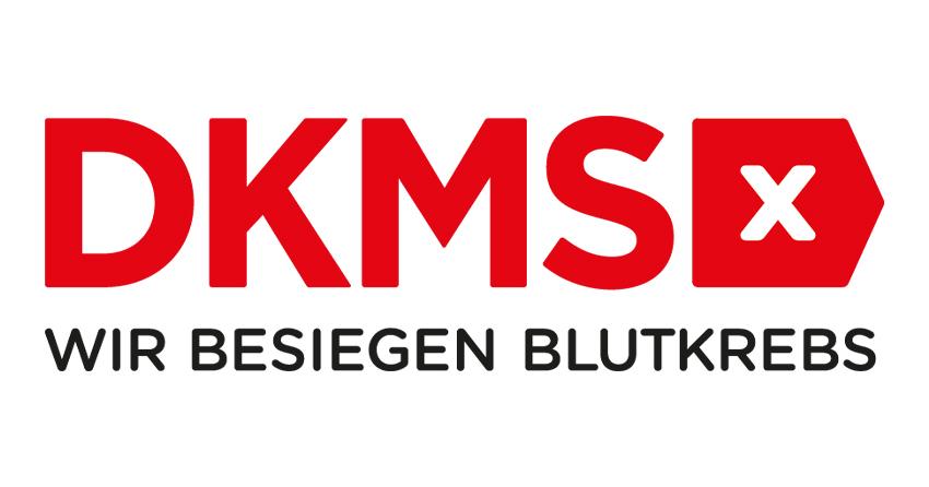 Logo der DKMS - Wir besiegen den Blutkrebs