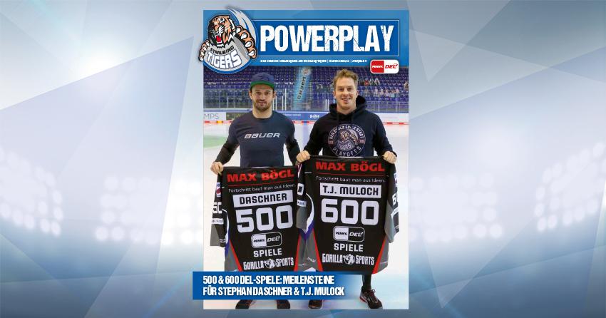 Titelblatt vom Powerplay Saison 2020/2021 Ausgabe 5