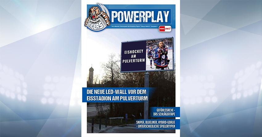 Titelblatt vom Powerplay Saison 2020/2021 Ausgabe 6