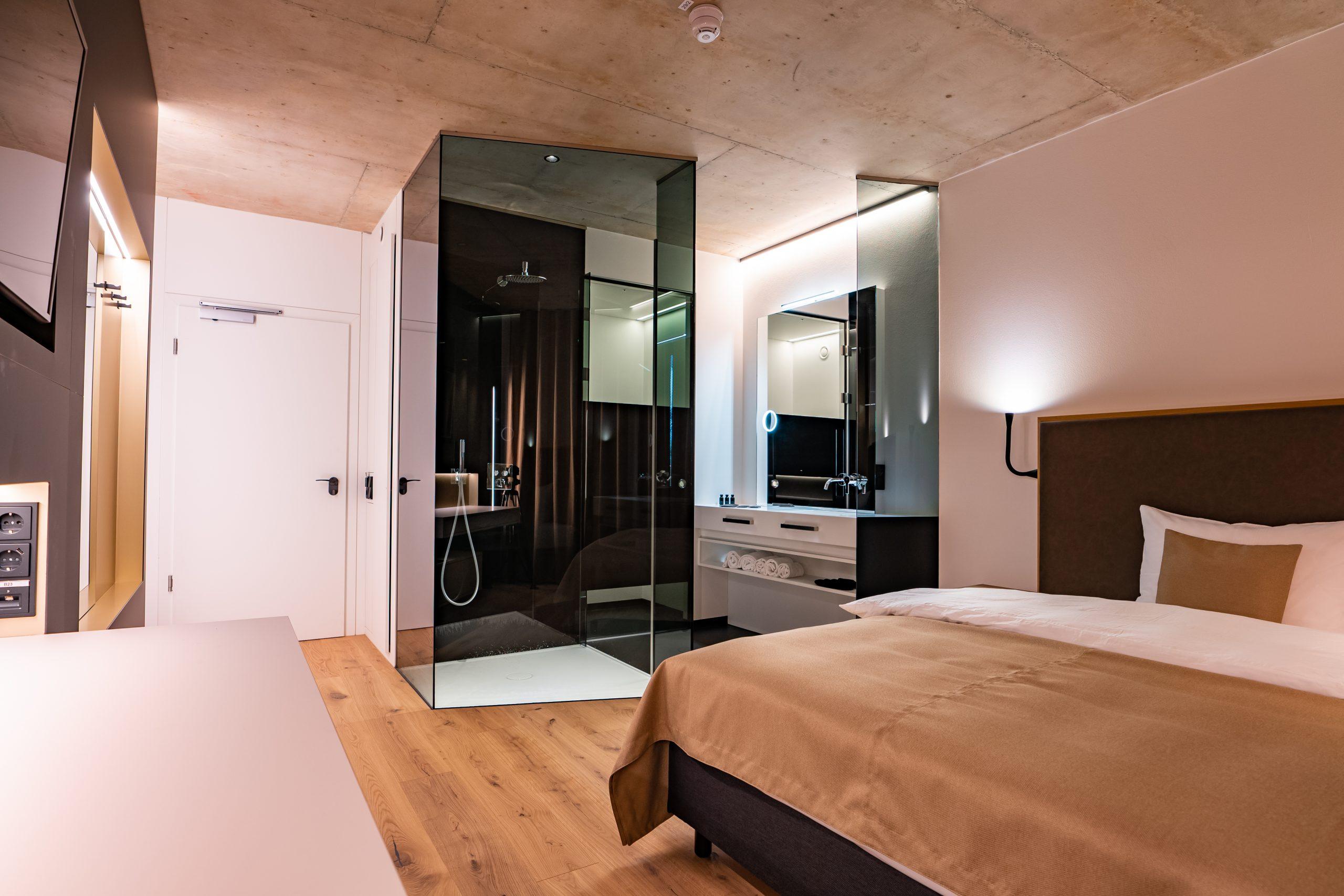 Zimmer im Hotel Villa Straubing