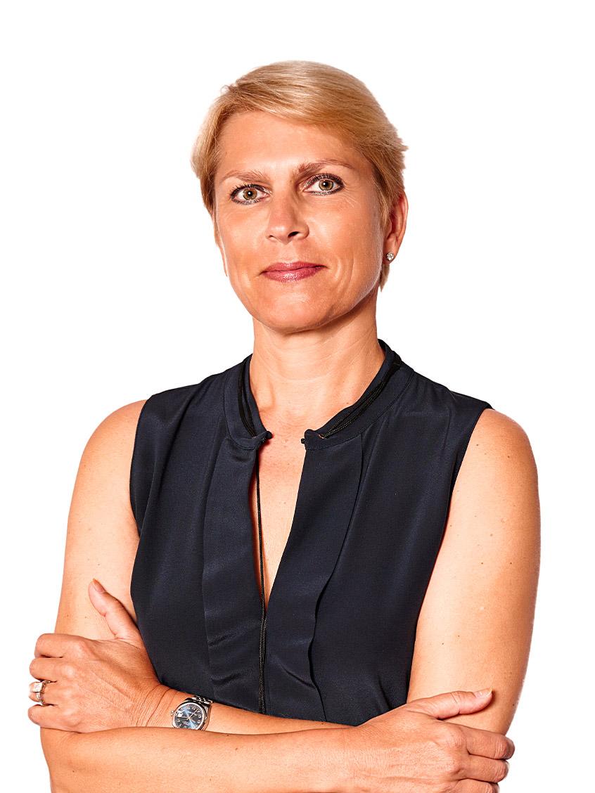 Portraitfoto von Gaby Sennebogen